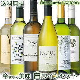 キィーンと冷やして美味しく飲める 世界のコスパ!辛口 白ワイン6本セット【送料無料】