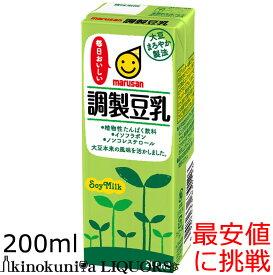 マルサンアイ 調製豆乳 200ml×24本[常温保存可能]【豆乳 お買い得!】【sybp】【w4】