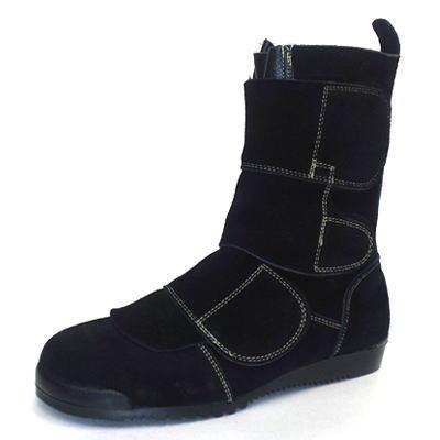 ノサックス Nosacks 安全靴 溶接・炉前作業用 鍛冶鳶 KT207(鳶職 靴 くつ クツ シューズ 作業靴 セーフティーシューズ 革靴)