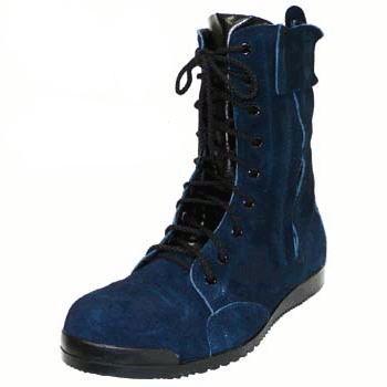 ノサックス Nosacks 高所作業用安全靴 みやじま鳶 N4010 勝色 (靴 くつ クツ シューズ 作業靴 セーフティーシューズ 革靴)