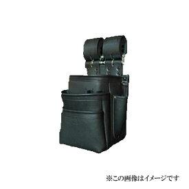 【代引き不可】KNICKS(ニックス) KB-301SPDX 自在型チェーンタイプ 総グローブ革3段腰袋