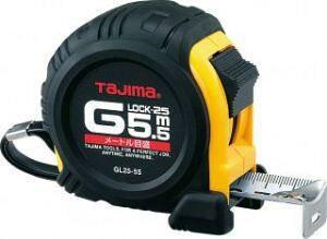 タジマ Gロック-25 7.5m  GL25-75(TJMデザイン TAJIMA メジャー 巻尺 巻き尺 スケール コンベックス コンベ)