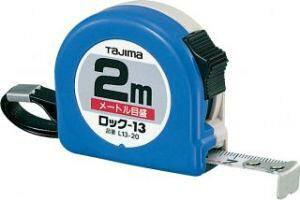タジマ  ロック-13 2m(メートル目盛) L13-20BL(TJMデザイン TAJIMA メジャー 巻尺 巻き尺 スケール コンベックス コンベ)
