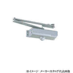 日本ドアーチェック NEWSTAR ニュースター ドアクローザー P-183A 色:アンバー(パラレル型・ストップ付)段付ブラケット (ドアチェック)