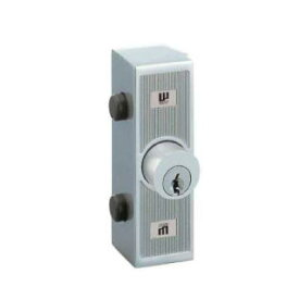 WEST ウエスト 室外補助錠 553-X0307-SA 色:サーチライトシルバー