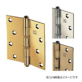 シロクマ 白熊印・BS-100 ステンキャノン丁番 102x102x2.5 仕上:仙徳