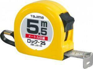 タジマ ロック-25 7.5m  L25-75BL(TJMデザイン TAJIMA メジャー 巻尺 巻き尺 スケール コンベックス コンベ)