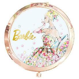 【メール便OK】【Barbie(バービー)】【日本製】コンパクトミラー(ブルー)
