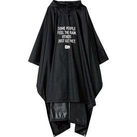 【KIU】エアライトポンチョ(ブラック)