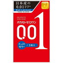 OKAMOTO オカモト ゼロワン001 たっぷりゼリー オカモト001/0.01ミリ/避妊具/コンドーム