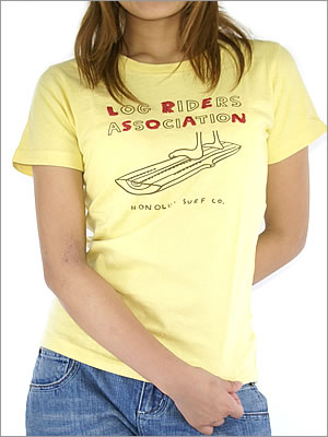 【HONOLUA】ホノルアWOMEN'STEEレディースTシャツ(他カラー有り)
