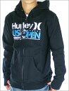 【HURLEY】ハーレーUSOPENフルスポンサー記念限定アイテムUSOPEN《BLACK》MEN'SZIPHOOD(パーカー)