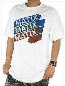 【MATIX】マティックスメンズ 半袖TEEシャツ!定番のロゴプリント!