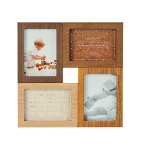 ベビーフレーム DF52-40 | 写真立て フォトフレーム 写真入れ お誕生記録 誕生日記録 置き 掛け 木製 ウッド シンプル かわいい ベビー&キッズ 赤ちゃん 記念 贈り物 贈答品 結婚祝い 出産祝い