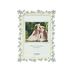 ブライダルフレーム BJ05-P | 写真立て フォトフレーム 写真たて 写真入れ ブライダル 誕生日 結婚祝い ウェディング 花 フラワー キラキラ かわいい シンプル ポストカード 贈り物 贈答品 お
