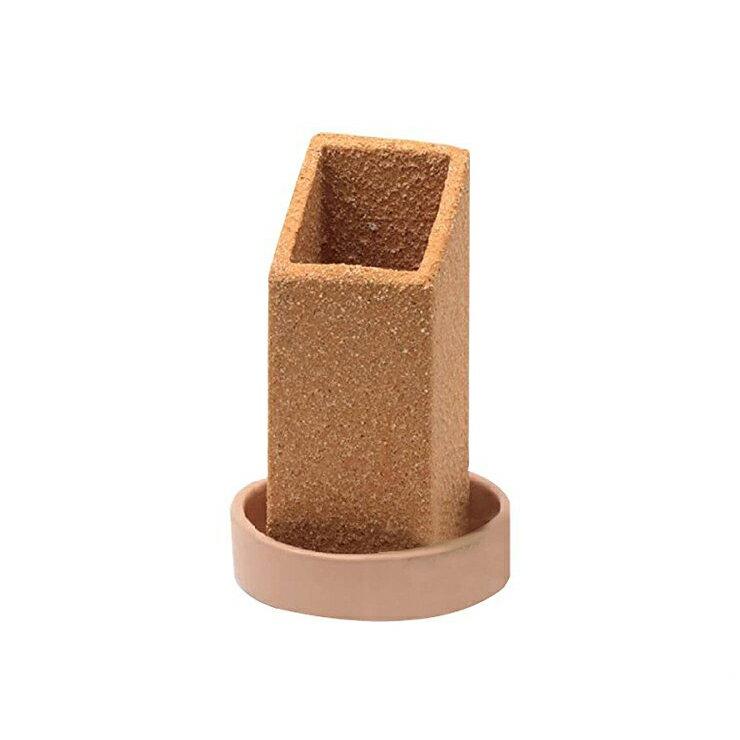 信楽焼気化式加湿器 maru LG09-SG-ML 自然蒸発 多孔質陶器 浸透蒸散 吸収 インテリア オブジェ エコ