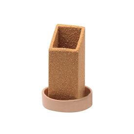 信楽焼気化式加湿器 shikaku LG09-SG-SL 自然蒸発 多孔質陶器 浸透蒸散 吸収 インテリア オブジェ エコ