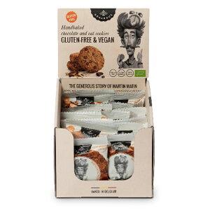 有機グルテンフリークッキー オーツ麦・チョコチップ 30g オーツ麦にチョコチップとレーズンを加え、動物性原料を使わずに焼き上げました。  個包装で便利 グルテンフリー ヴィーガン 有