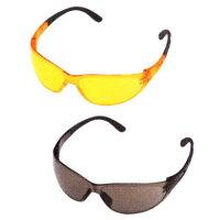保護メガネ「コントラスト」ブラック