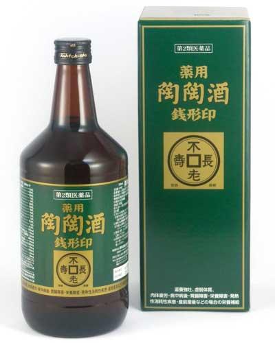 【第2類医薬品】 薬用陶陶酒 銭形印・辛口(720mL)【smtb-s】10P05Nov16