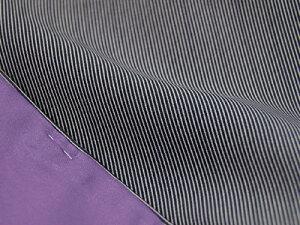 【江戸小紋】洗える着物仕立上り小紋袷「万筋」黒Mサイズ