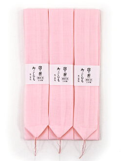 Three muslin waist cord sets
