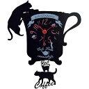 ♪○★ディアキャッツ 猫カフェシリーズ 壁掛け振り子時計 G-1174BK【RCP】【4931891117460】【送料無料※北海道・…