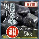 黒玉石 5分5kg【送料無料】【あす楽】