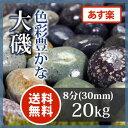 玉砂利:大磯 8分20kg【送料無料】【あす楽】