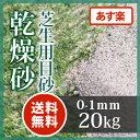 芝生用 目砂 乾燥砂天竜川中流域産 洗い砂20kg 芝生 目土 目砂 乾燥砂【送料無料】【あす楽】