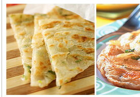 台湾義美手工葱酥抓餅・葱油抓餅(手作りネギパンケーキ)