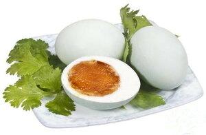 塩鴨蛋 茹で塩卵 6個入り 咸鴨蛋 アヒルの卵を塩漬けにしたもの