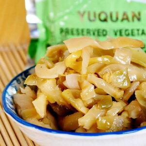 ザーサイ(ストリップ) 魚泉搾菜 80g お粥、炒め物に最適 5袋セット