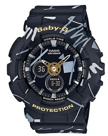 【あす楽対応商品】カシオ海外モデルBaby-G ジオメトリックデザイン BA-120SC-1A