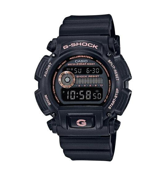 【あす楽対応商品】カシオG-SHOCK海外モデルブラック ローズゴールドDW-9052GBX-1A4