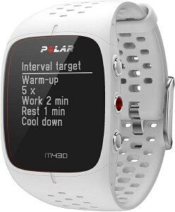 【お取寄せ品】ポラール GPS搭載ランニングウォッチ M430 ホワイトM/L 90064406