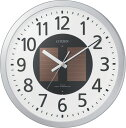【アウトレット品】シチズン電波掛時計「エコライフM815」4MY815-097-019
