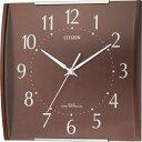 【アウトレット品】シチズン電波掛時計【シンプルモード】8MYA08-097-06