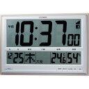 【訳あり,アウトレット品】 シチズン電波(掛置兼用)時計「パルデジットペール」8RZ111-097-19