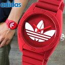 アディダス adidas originals 腕時計 時計 ペアウォッチ サンティアゴ SANTIAGO ADH6168 レッド メンズ レディース ユニセックス 腕時計 ウォッチ 海外直輸入品
