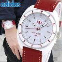 【送料無料】 adidas アディダス stan smith スタンスミス 白 赤 メンズ レディース 腕時計 防水 男女兼用 ユニセックス ホワイト レッド ADH9088 海外モデル 誕生日プレゼ