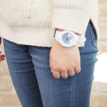 adidasアディダスaberdeenアバディーン海外モデルレディース腕時計ウォッチ黒ブラック白ホワイトブルーパープルピンクグリーン誕生日プレゼントギフト