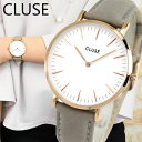 【送料無料】CLUSE クルース La Boheme ラ・ボエーム CL18015 38mm 海外モデル レディース 腕時計 ウォッチ 革ベルト レザー クオー...