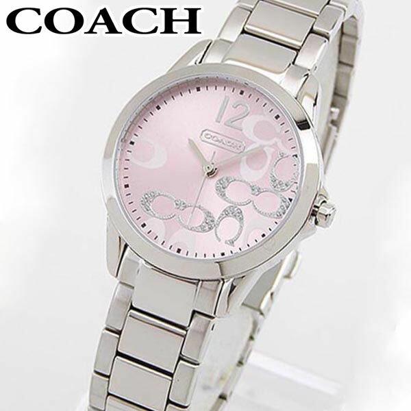【送料無料】COACH コーチ NEW CLASSIC SIGNATURE ニュー クラシック シグネチャー 14501617 海外モデル レディース 腕時計 ウォッチ ピンク
