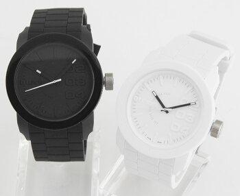 ★送料無料DIESELディーゼルDZ1437DZ1436海外モデルメンズレディース腕時計男女兼用ユニセックスクオーツアナログ黒ブラック白ホワイト