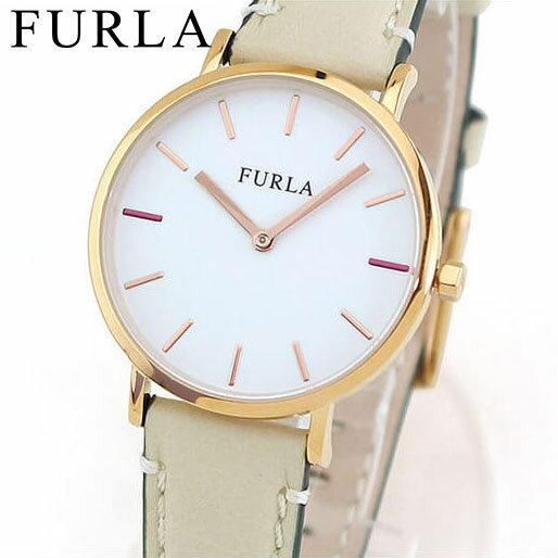 【送料無料】FURLA フルラ GIADA ジャーダ 33mm R4251108503 レディース 腕時計 革ベルト レザー ピンクゴールド ローズゴールド ベージュ 誕生日プレゼント 女性 ギフト 海外モデル
