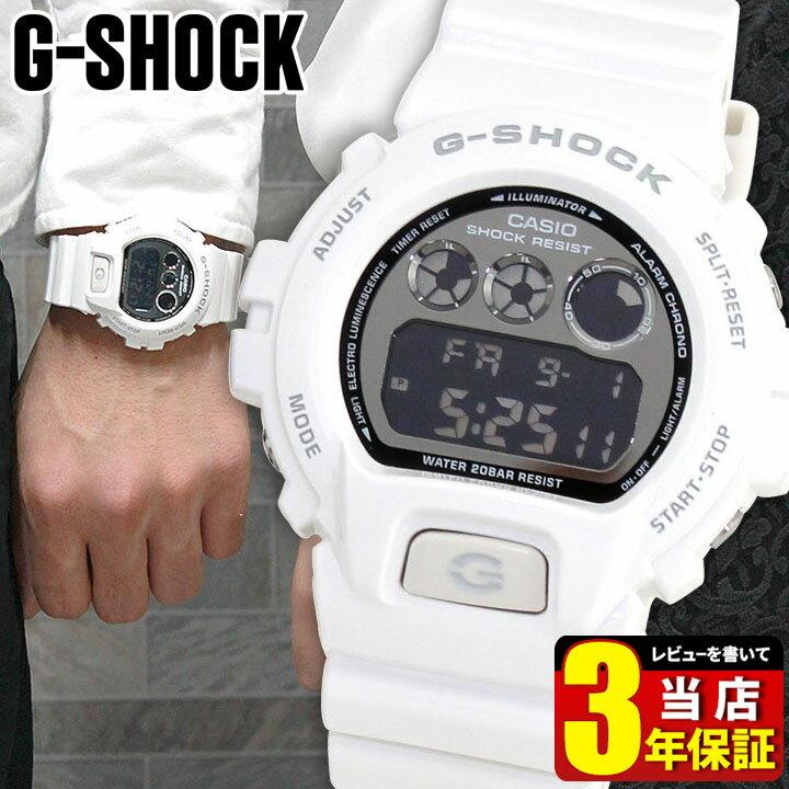 CASIO カシオ G-SHOCK Gショック メンズ 腕時計 時計 DW-6900NB-7 白 ホワイト Metallic Colors メタリックカラーズ【あす楽対応】スポーツ デジタル 商品到着後レビューを書いて3年保証 誕生日プレゼント 男性 ギフト