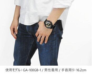 CASIOカシオG-SHOCKGショックメンズ腕時計時計GD-100GB-1DR海外モデルBlack×GoldSeriesブラック×ゴールドシリーズ【RCP】【Gショック限定】