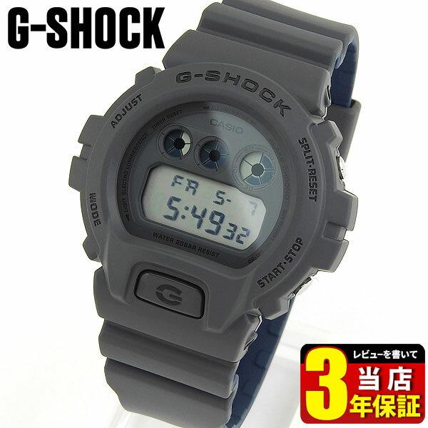 CASIO カシオ G-SHOCK Gショック ジーショック DW-6900LU-8 メンズ 腕時計 ウレタン 多機能 クオーツ デジタル グレー 青 ネイビー 海外モデル 商品到着後レビューを書いて3年保証