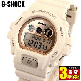 CASIO カシオ G-SHOCK Gショック Sシリーズ GMD-S6900MC-4 メンズ レディース 腕時計 ウレタン 多機能 デジタル ピンク ローズゴールド ベージュ 誕生日プレゼント 男性 女性 ギフト 海外モデル